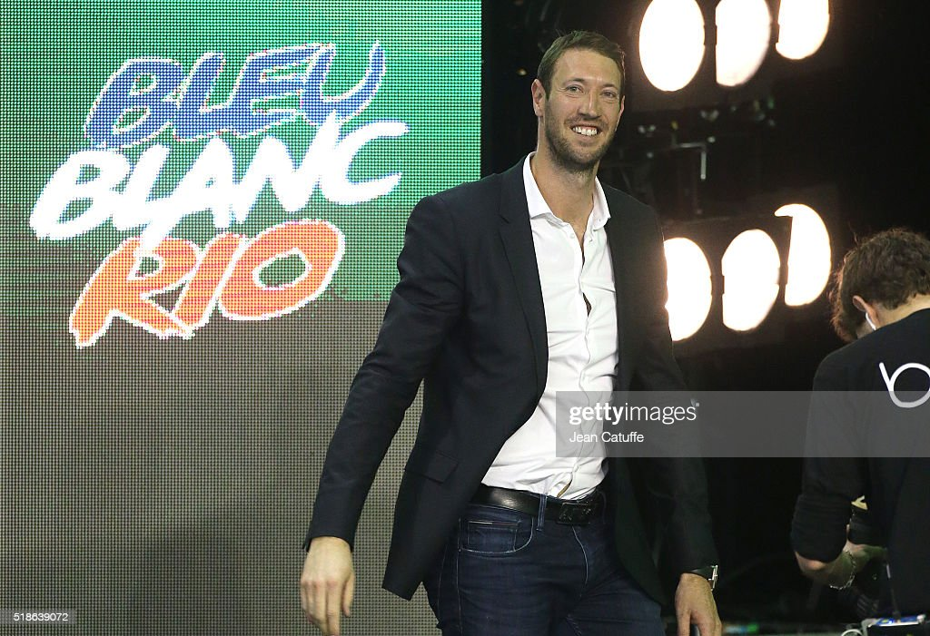 Olympic champion <a gi-track='captionPersonalityLinkClicked' href=/galleries/search?phrase=Alain+Bernard+-+Swimmer&family=editorial&specificpeople=775873 ng-click='$event.stopPropagation()'>Alain Bernard</a> attends day 4 of the French National Swimming Championships at Piscine Olympique d'Antigone on April 1, 2016 in Montpellier, France.