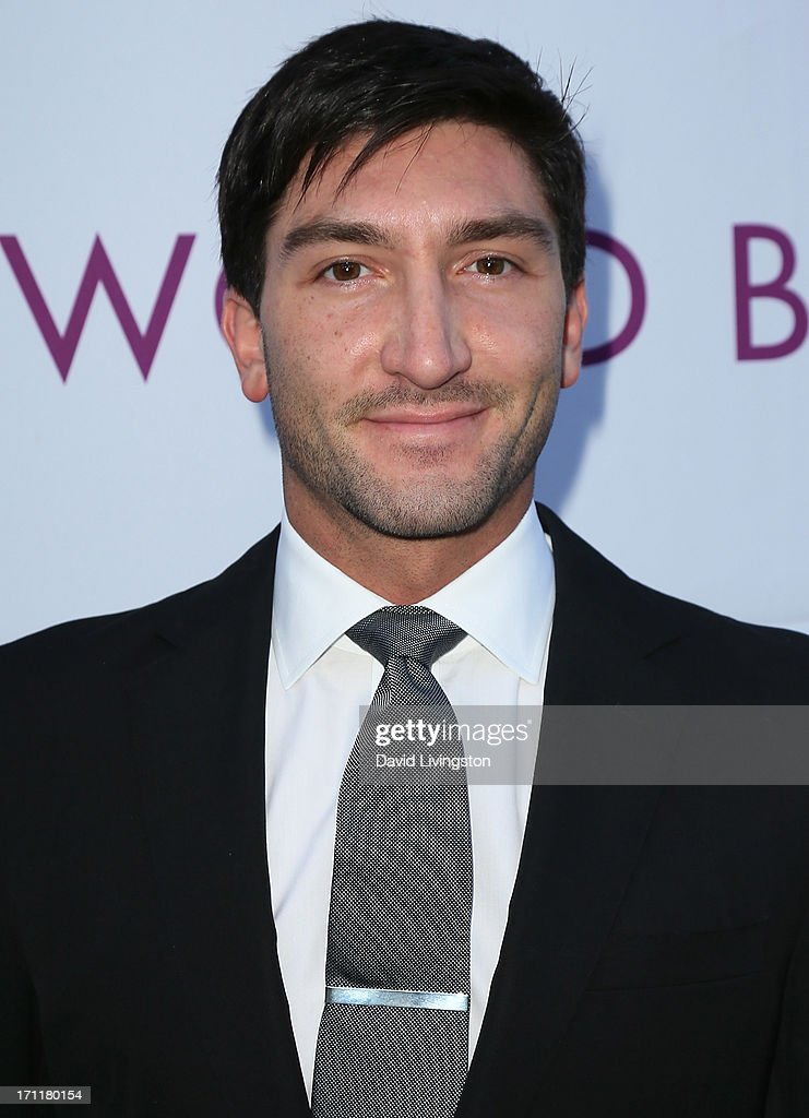 Olympic champion <a gi-track='captionPersonalityLinkClicked' href=/galleries/search?phrase=Evan+Lysacek&family=editorial&specificpeople=243028 ng-click='$event.stopPropagation()'>Evan Lysacek</a> attends Opening Night at The Hollywood Bowl 2013 at The Hollywood Bowl on June 22, 2013 in Los Angeles, California.