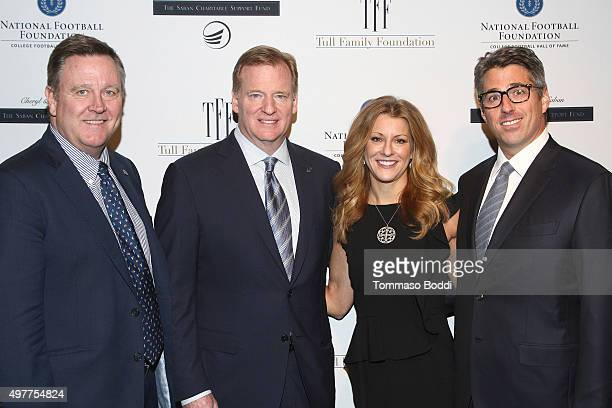 Olympic Committee Scott Blackmun NFL Commissioner Roger Goodell Sports journalist Bonnie Bernstein and CEO Wasserman Media Group Casey Wasserman...