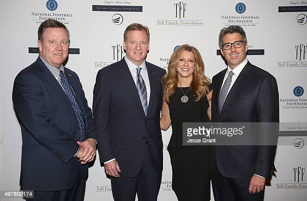 US Olympic Committee Scott Blackmun NFL Commissioner Roger Goodell Sports journalist Bonnie Bernstein and CEO Wasserman Media Group Casey Wasserman...