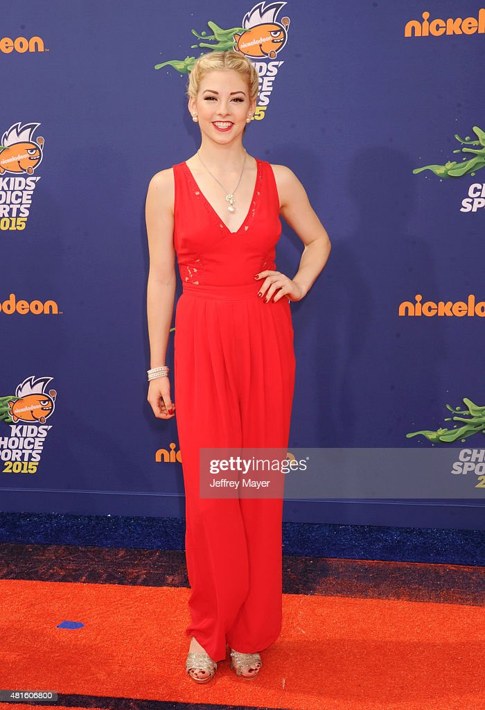 Olympic figure skater <a gi-track='captionPersonalityLinkClicked' href=/galleries/search?phrase=Gracie+Gold&family=editorial&specificpeople=9153874 ng-click='$event.stopPropagation()'>Gracie Gold</a> arrives at the Nickelodeon Kids' Choice Sports Awards 2015 at UCLA's Pauley Pavilion on July 16, 2015 in Westwood, California.