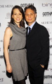 Olympic figure skater Sarah Hughes and CEO and founder of Niche Media Jason Binn attend Gotham Magazine's Annual Gala hosted by Alicia Keys and...