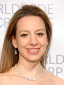 Olympic figure skater Sarah Hughes attends the Worldwide Orphans Gala on November 18 2013 in New York City