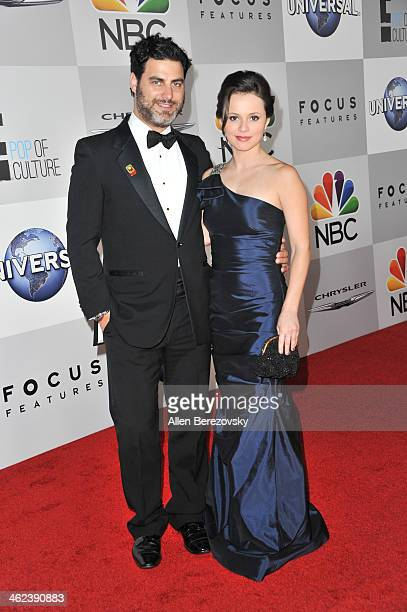 Olympic figure skater Sasha Cohen and boyfriend Geoff Lieberthal attend the NBC/Universal's 71st Annual Golden Globes After Party at The Beverly...