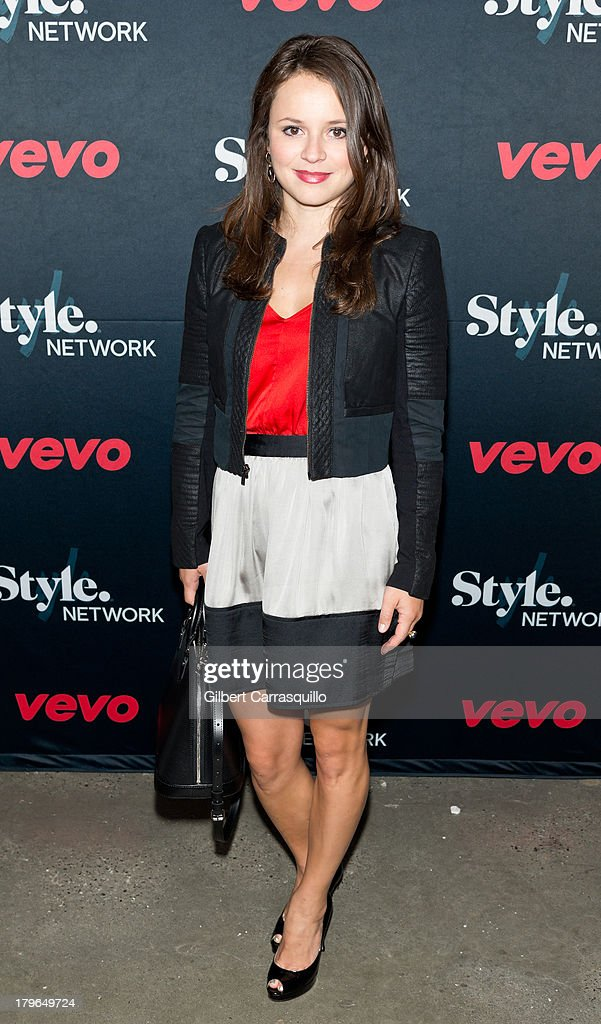 Olympic Figure Skater Sasha Cohen attends Style Network's 'Style To Rock' Event at Skylight Modern on September 5 2013 in New York City