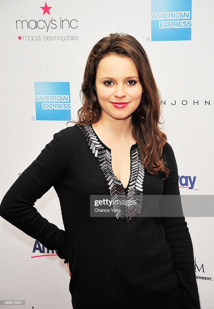 US Olympic Figure Skater <a gi-track='captionPersonalityLinkClicked' href=/galleries/search?phrase=Sasha+Cohen+-+Figure+Skater&family=editorial&specificpeople=171109 ng-click='$event.stopPropagation()'>Sasha Cohen</a> attends the 2014 Skating With The Stars at Trump Rink at Central Park on April 7, 2014 in New York City.