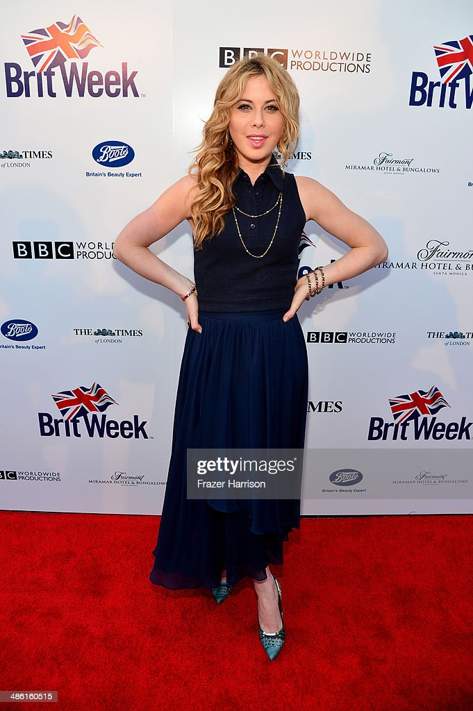 Olympic figure skater <a gi-track='captionPersonalityLinkClicked' href=/galleries/search?phrase=Tara+Lipinski&family=editorial&specificpeople=213748 ng-click='$event.stopPropagation()'>Tara Lipinski</a> attends the 8th Annual BritWeek Launch Party at a private residence on April 22, 2014 in Los Angeles, California.