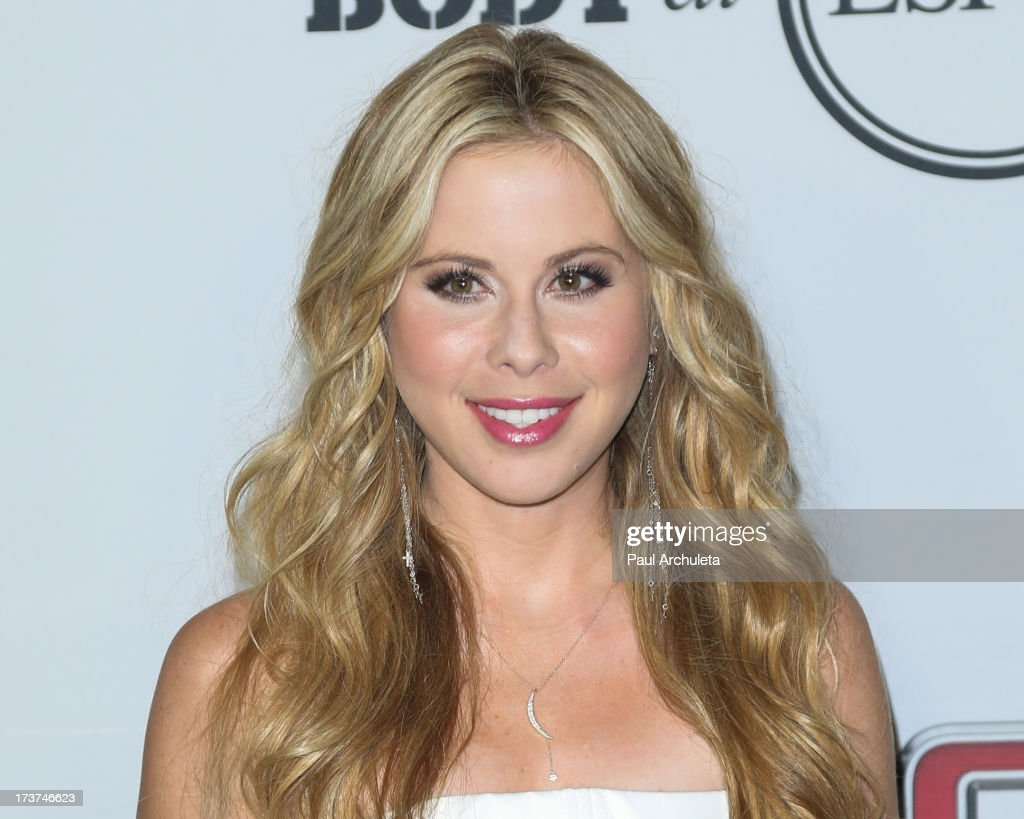 Olympic Figure Skater <a gi-track='captionPersonalityLinkClicked' href=/galleries/search?phrase=Tara+Lipinski&family=editorial&specificpeople=213748 ng-click='$event.stopPropagation()'>Tara Lipinski</a> attends the ESPN's 5th Annual Body At ESPYS at Lure on July 16, 2013 in Hollywood, California.