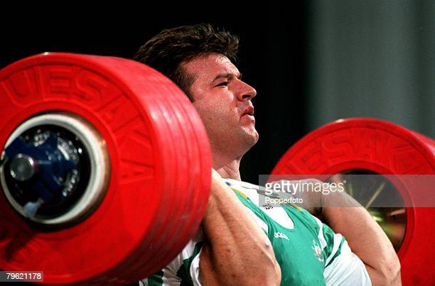 Olympic Games Atlanta USA Weightlifting 108 Kg Australian bronze medallist Stefan Botev