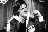 Olympic Games Montreal Canada Men's Decathlon USA's gold medal winner Bruce Jenner