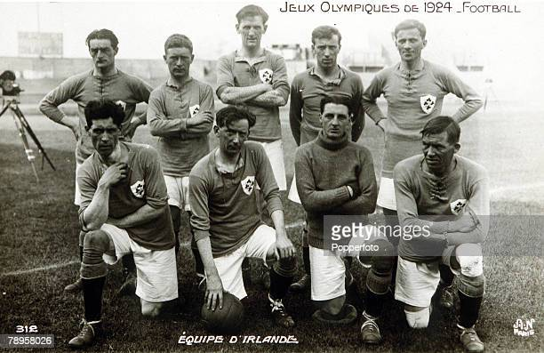 Olympic Games Paris France Football The Ireland soccer team