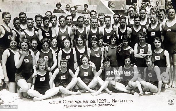Olympic Games Paris France SwimmingThe Great Britain team