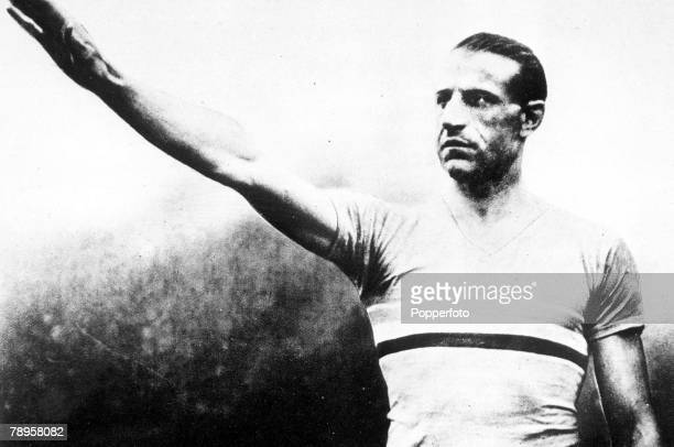 Olympic Games Paris France The great French athlete Geo Andre