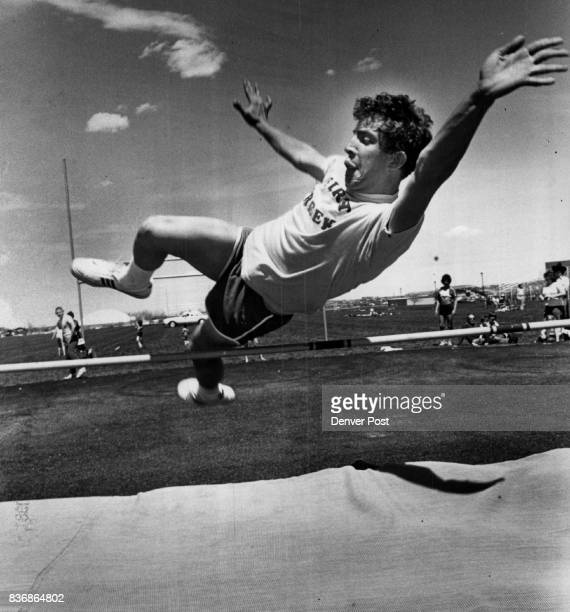 Olympic Games Special David Reddy David Reddy Sails over high Jump bar at Special Olympics He was among 400 persons ages 760 from Adams Arapahoe and...