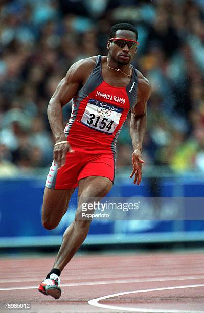 Olympic Games Sydney Australia Athletics Men's 200 m heats 27th September Ato Boldon of Trinidad and Tobago the Bronze medal winner