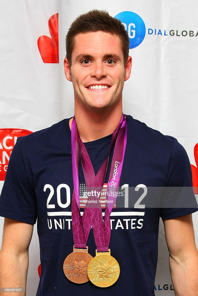 Olympic Gold and Bronze Medalist David Boudia visits Zach Sang the Gang on August 14 2012 in New York City