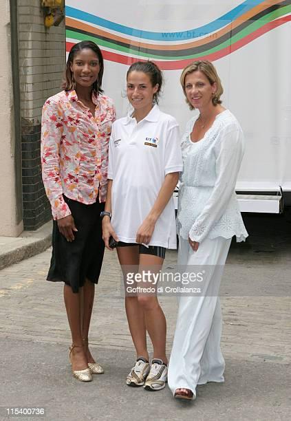 Olympic Gold Medal Winner Denise LewisOlympic Gold Medal Winner Sally Gunnell