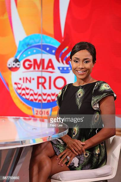 Olympic gold medal winner Dominique Dawes is a guest onGOOD MORNING AMERICA 8/8/16 airing on the ABC Television Network DOMINIQUE