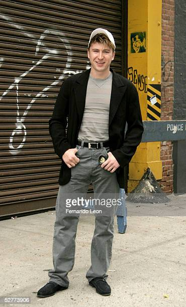 Olympic gold medalist Alexi Yagudin arrives at the Kids For Kids 2005 Elizabeth Glaser Pediatric AIDS Carnival in the West Village May 7 2005 in New...