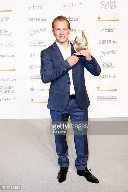 Olympic gold medalist and Goldene Henne award winner Florian Hambuechen attends the Goldene Henne on October 28 2016 in Leipzig Germany