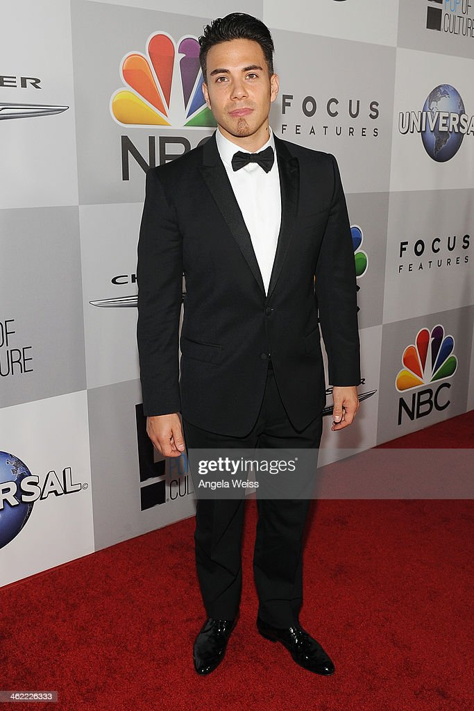 Olympic gold medalist Apolo Ohno attends the Universal NBC Focus Features E sponsored by Chrysler viewing and after party with Gold Meets Golden held...