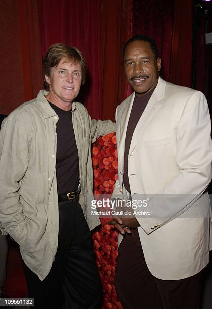 Olympic gold medalist Bruce Jenner and Baseball Hall of Famer Dave Winfield