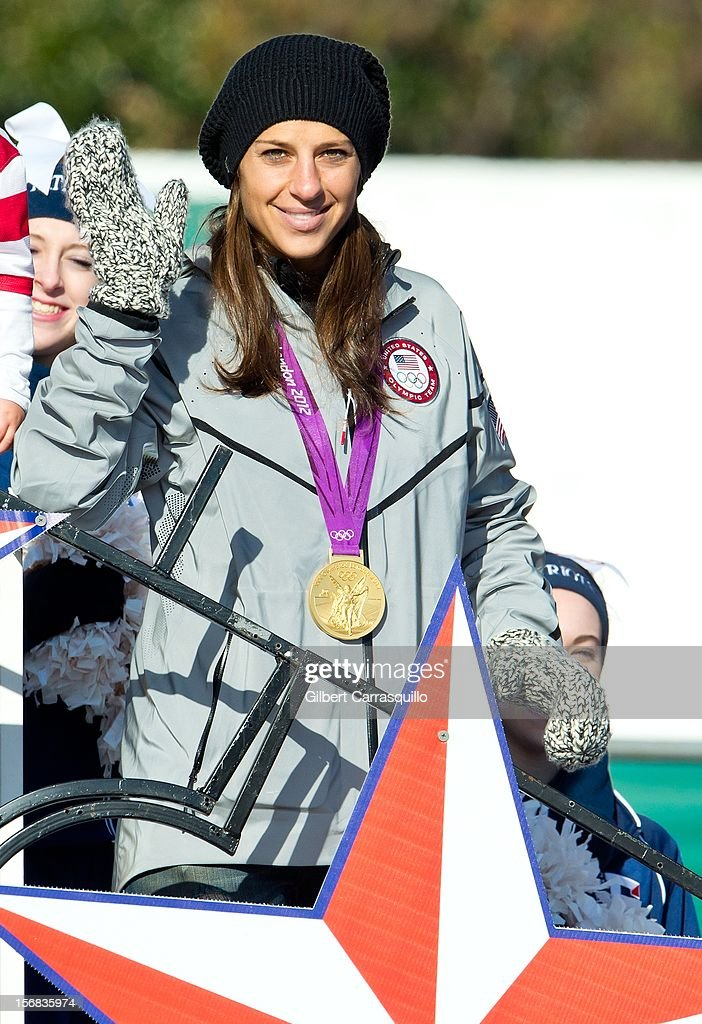 Olympic gold medalist Carli Lloyd attends the 93rd annual Dunkin' Donuts Thanksgiving Day Parade on November 22, 2012 in Philadelphia, Pennsylvania.