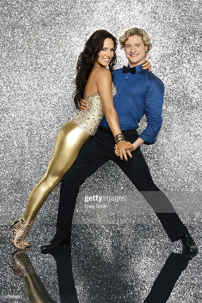 BURGESS - Olympic Gold Medalist Charlie White partners with Sharna Burgess. This season's dynamic lineup of stars will perform for the first time on live national television with their professional partners during the two-hour season premiere of 'Dancing with the Stars,' MONDAY, MARCH 17 (8:00-10:01 p.m., ET) on the ABC Television Network.