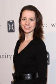 Olympic Gold Medalist Figure Skater Sarah Hughes attends the Fourth Annual Charity Ball Gala to benefit charity water at the Metropolitan Pavilion on...
