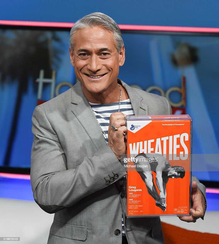 Greg Louganis Appears On Hollywood Today Live