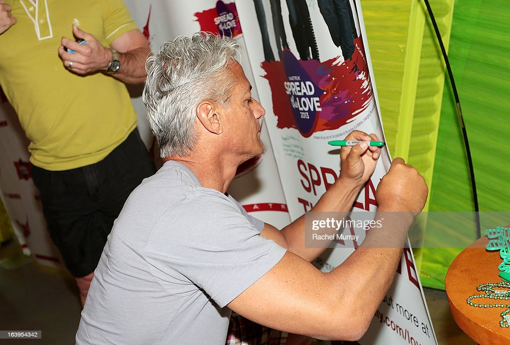 Olympic Gold Medalist <a gi-track='captionPersonalityLinkClicked' href=/galleries/search?phrase=Greg+Louganis&family=editorial&specificpeople=217786 ng-click='$event.stopPropagation()'>Greg Louganis</a> attends Bash To Banish Bullying Benefiting It Gets Better, a Matrix Chairs Of Change Event - Day 1 at Saguaro Hotel on March 16, 2013 in Palm Springs, California.