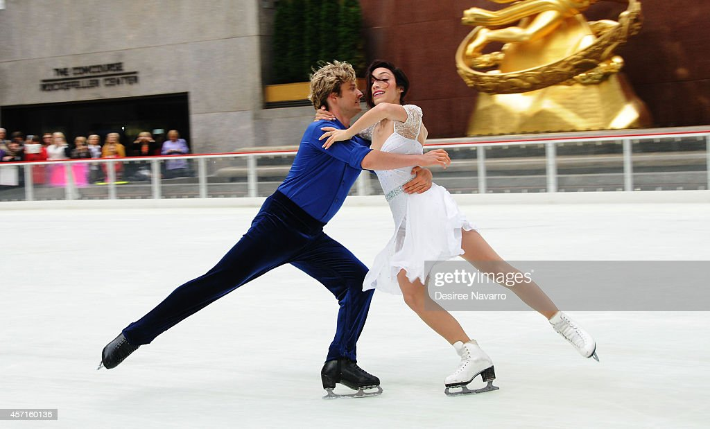 2014 Olympic Gold Medalists Meryl Davis And Charlie White Perform First Skate Of The Season