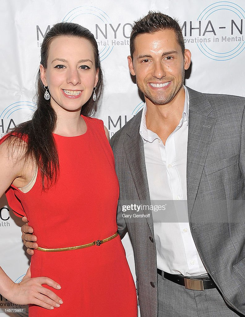 Olympic Gold Medalist ice skater Sarah Hughes (L) and actor Timothy Mandala attend the 2012 Mental Health Association of New York City Celebration of Hope Gala at Cipriani 42nd Street on June 5, 2012 in New York City.