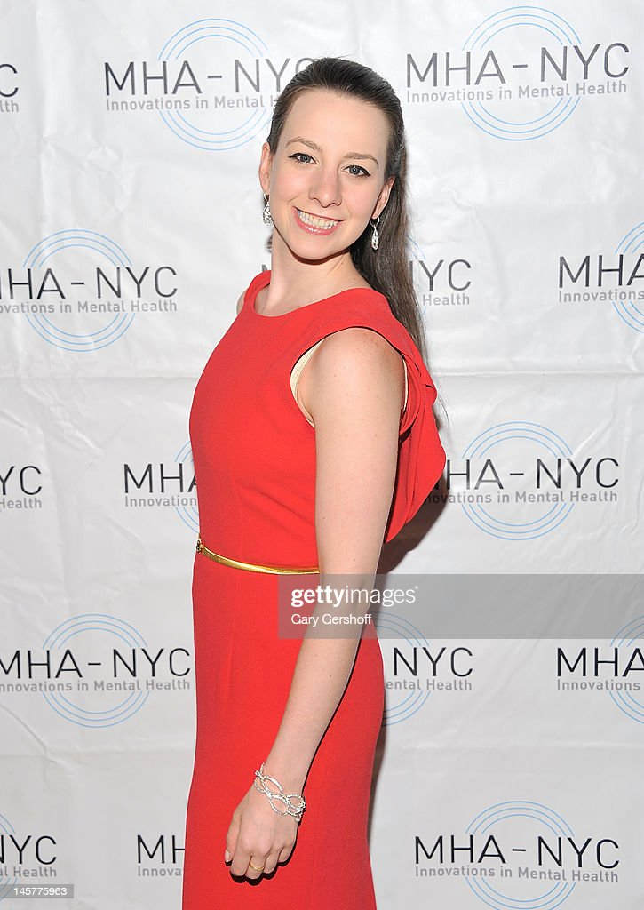 Olympic Gold Medalist ice skater Sarah Hughes attends the 2012 Mental Health Association of New York City Celebration of Hope Gala at Cipriani 42nd Street on June 5, 2012 in New York City.