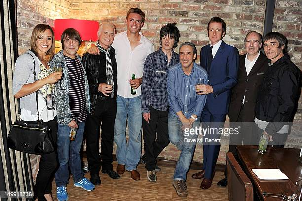 Olympic Gold Medalist Jessica Ennis Gary 'Mani' Mounfield Jimmy Page Olympic Gold Medalist Pete Reed John Squire Alan 'Reni' Wren Olympic Gold...