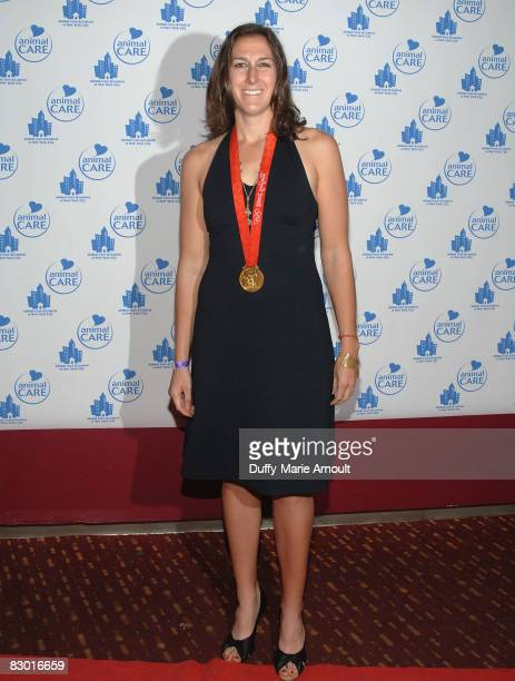 Olympic Gold Medalist Lindsay Shoop attends Animal Care and Control 'A Party for the Paws' at Pressure on September 25 2008 in New York City