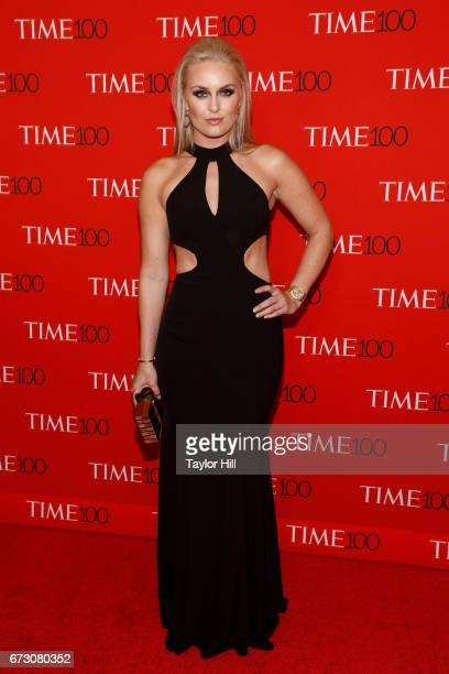 Olympic gold medalist Lindsey Vonn attends the 2017 Time 100 Gala at Jazz at Lincoln Center on April 25 2017 in New York City