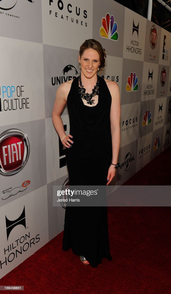 US Olympic gold medalist Missy Franklin attends the NBCUniversal Golden Globes viewing and after party held at The Beverly Hilton Hotel on January 13, 2013 in Beverly Hills, California.