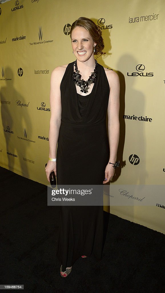 US Olympic gold medalist Missy Franklin attends The Weinstein Company's 2013 Golden Globe Awards after party presented by Chopard, HP, Laura Mercier, Lexus, Marie Claire, and Yucaipa Films held at The Old Trader Vic's at The Beverly Hilton Hotel on January 13, 2013 in Beverly Hills, California.