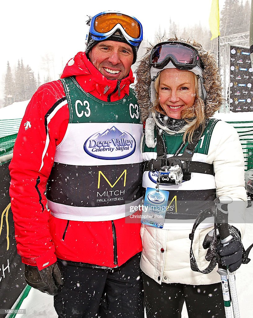 Olympic Gold Medalist Phil Mahre and actress Rachael Harris attend the Deer Valley Celebrity Skifest at Deer Valley Resort on December 8, 2012 in Park City, Utah.