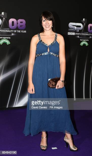 Olympic gold medalist Rebecca Romero arrives for the BBC Sports Personality Of The Year 2008 at the Echo Arena Liverpool