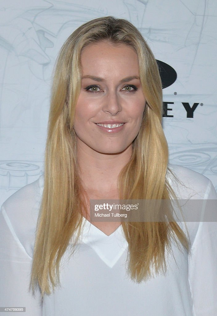 Olympic Gold Medalist Ski Racer <a gi-track='captionPersonalityLinkClicked' href=/galleries/search?phrase=Lindsey+Vonn&family=editorial&specificpeople=4668171 ng-click='$event.stopPropagation()'>Lindsey Vonn</a> attends the Oakley's Disruptive By Design Launch Event at Red Studios on February 24, 2014 in Los Angeles, California.