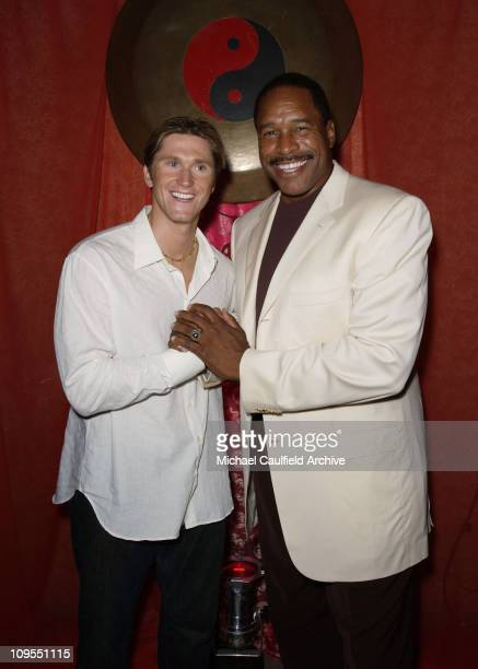 Olympic gold medalist swimmer Lenny Krayzelburg and Baseball Hall of Famer Dave Winfield