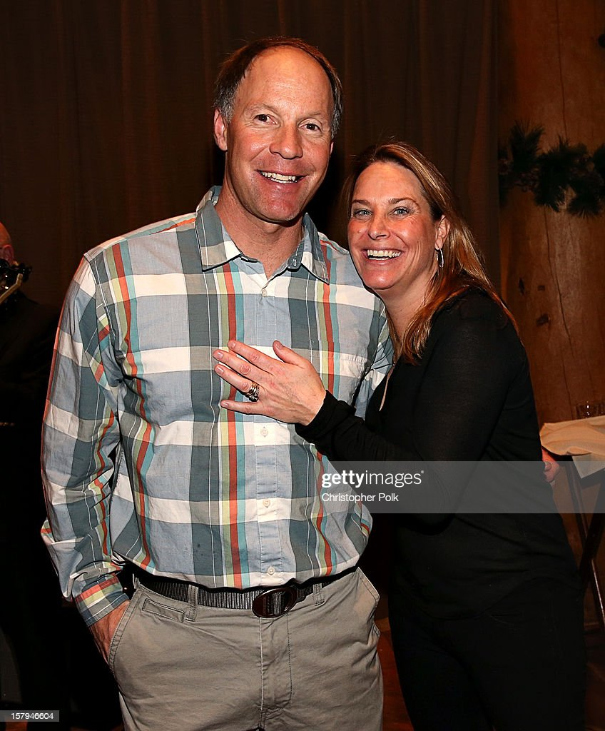 Olympic Gold Medalist Tommy Moe and US Olympic Ski team member Heidi Voelker attend the Deer Valley Celebrity Skifest at Deer Valley Resort on December 7, 2012 in Park City, Utah.