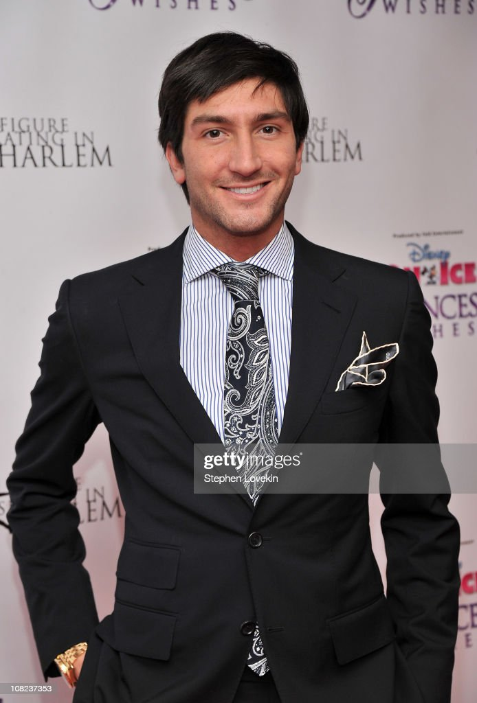 Olympic gold medalist/ TV personality Evan Lysacek attends Disney On Ice's 'Princess Wishes' opening night at Madison Square Garden on January 21, 2011 in New York City.