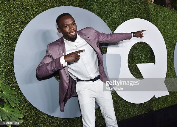Olympic Gold Medalist Usain Bolt attends the 2016 GQ Men of the Year Party at Chateau Marmont on December 8 2016 in Los Angeles California
