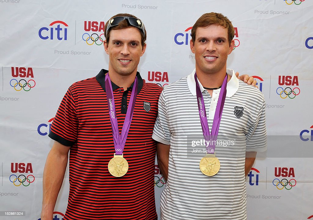 Olympic Gold Medalists Bob And Mike Bryan Visit A Diamond Bar, CA Citibank Branch To Celebrate Citi's Team USA Sponsorship