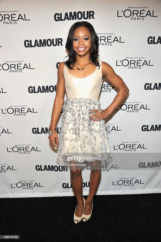 Olympic gymnast Gabby Douglas attends the 22nd annual Glamour Women of the Year Awards at Carnegie Hall on November 12, 2012 in New York City.