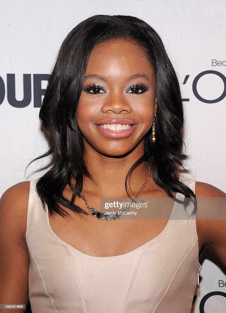 Olympic gymnast Gabrielle Douglas attends the 22nd annual Glamour Women of the Year Awards at Carnegie Hall on November 12, 2012 in New York City.