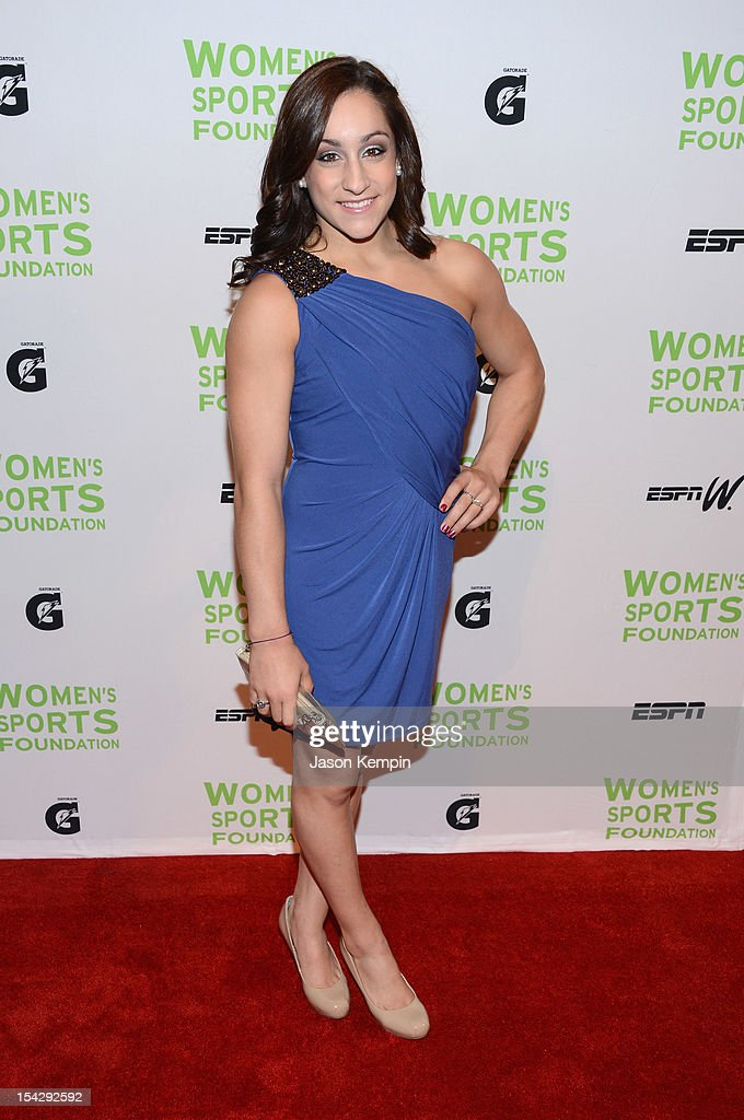 Olympic gymnast Jordyn Wieber attends the 33rd Annual Salute To Women In Sports Gala at Cipriani Wall Street on October 17, 2012 in New York City.